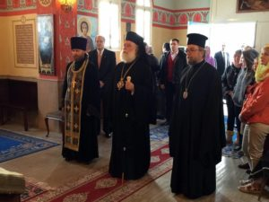 Визит Патриарха Феодора II